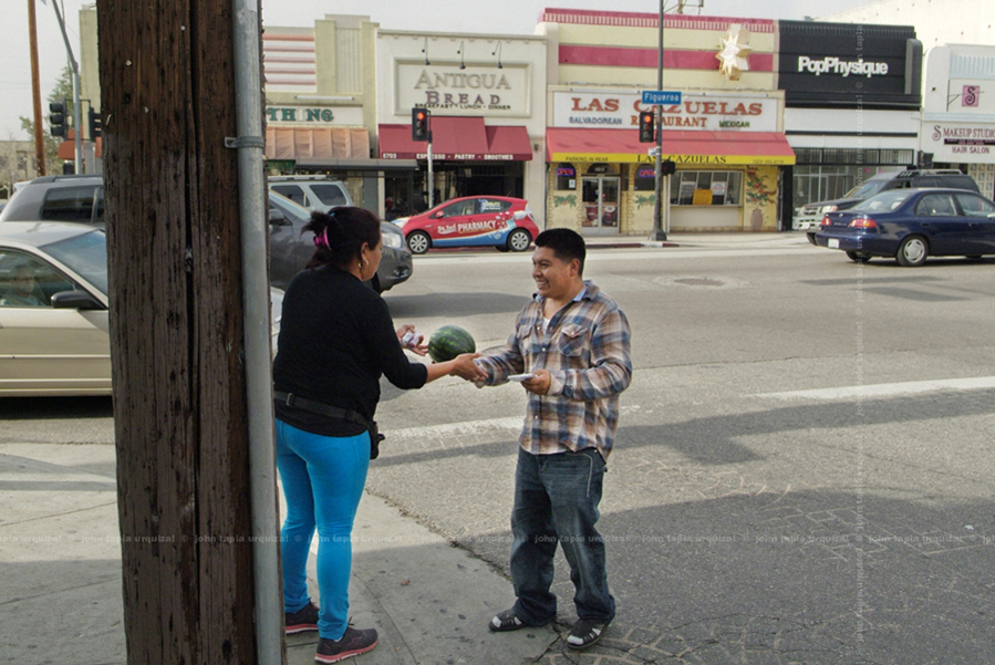 figueroa street. latino urbanism developed as a result of the local workforce importing its native value system to meet its own needs. avenue 56 and figueroa is revealing itself to be at social center for a variety of segments in the community.